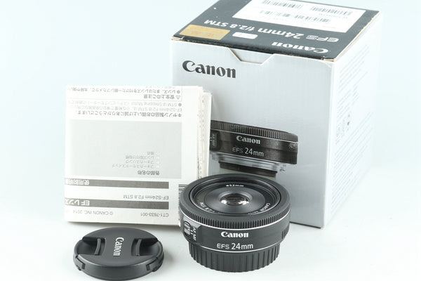 Canon EF-S 24mm f/2.8 STM #28301L3