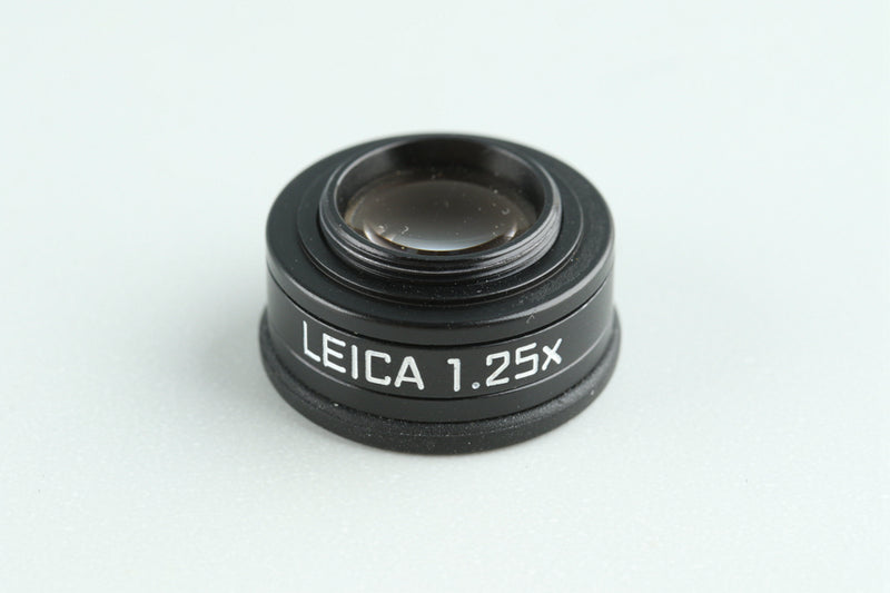 Leica 12004 Viewfinder Magnifier M 1.25x #28313F2