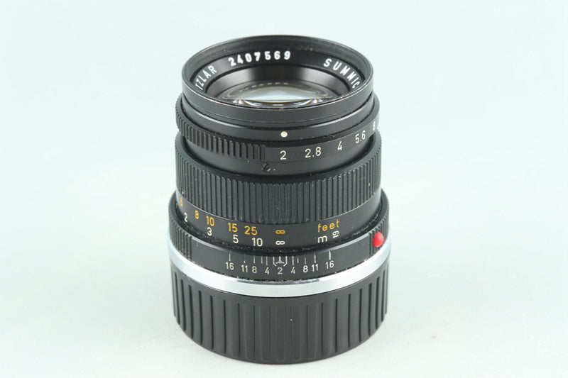 Leica Leitz Summicron 50mm F/2 Lens for Leica M #28322C2