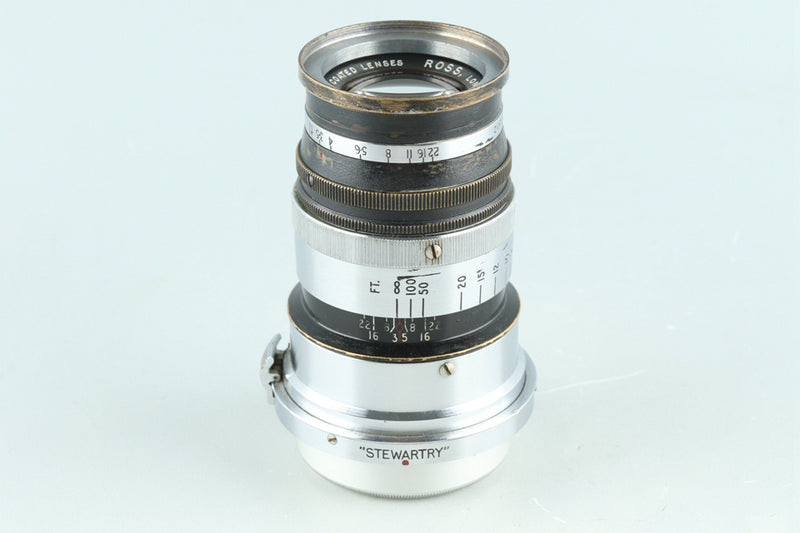 Ross London Definex 3-1/2in 91mm F/3.5 Lens for Contax RF #28336C1