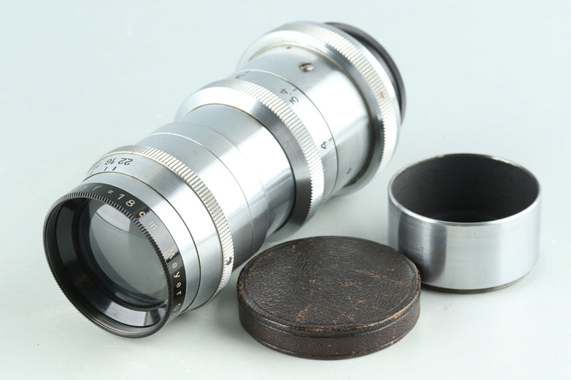 Meyer Gorlitz Tele Megor 18mm F/5.5 Lens for Exakta #28370H11