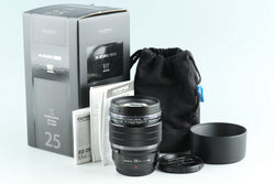 Olympus M.Zuiko Digital 25mm F/1.2 Pro Lens for M4/3 With Box #28385L7