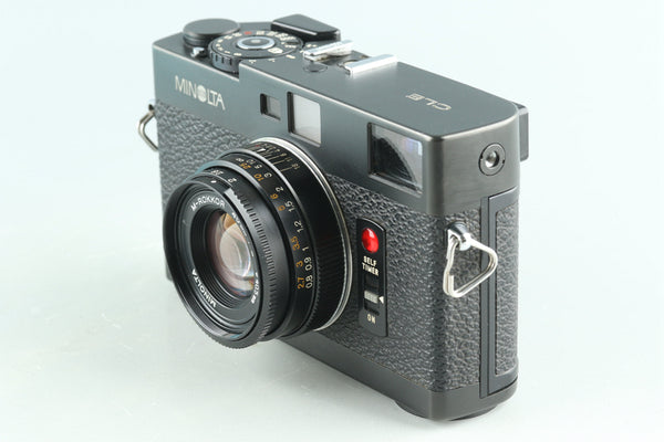 Minolta CLE 35mm Rangefinder Film Camera + 40mm F/2 Lens #28392D4