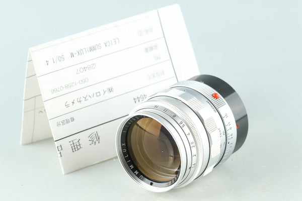 Leica Leitz Summilux 50mm F/1.4 Lens for Leica M #28407C1
