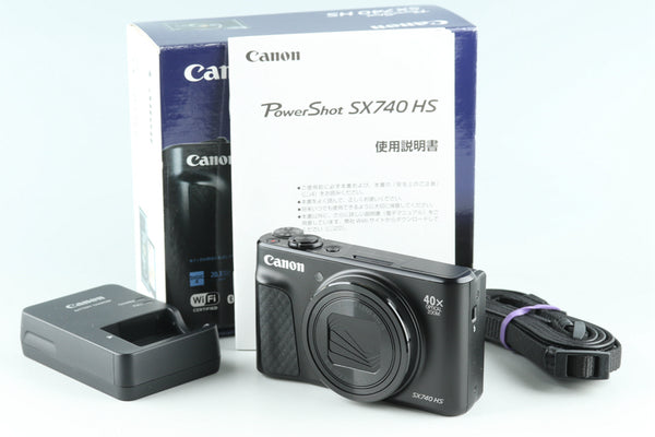 Canon Power Shot SX740 HS Digital Camera With Box #28420L3