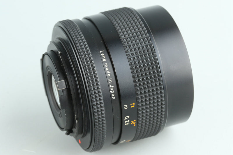 Contax Carl Zeiss Distagon T* 28mm F/2.8 AEJ Lens for CY Mount #28439A2