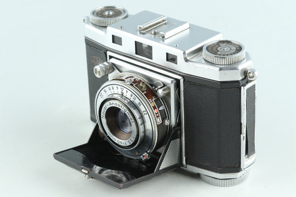 Zeiss Ikon Contina 35mm Film Camera With Novar 45mm F/3.5 Lens #28446D5