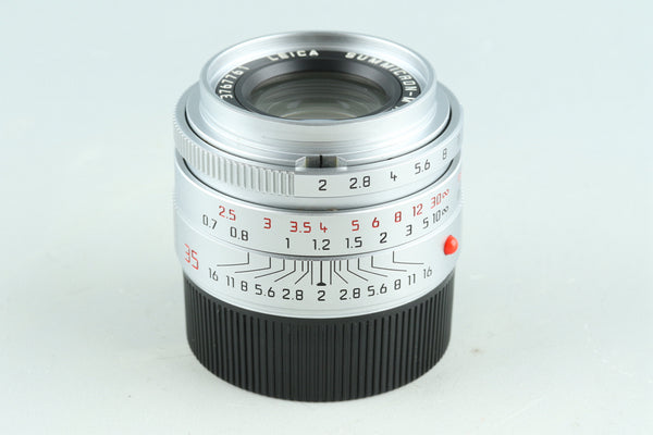 Leica Summicron-M 35mm F/2 ASPH. E39 Lens for Leica M #28545C2