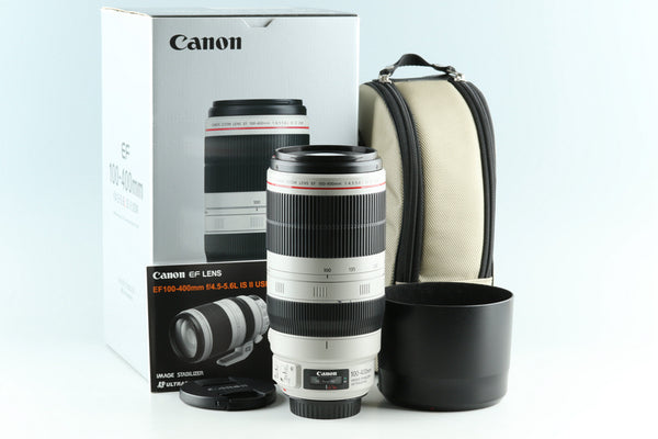 Canon EF 100-400mm F/4.5-5.6 L IS II USM Lens With Box #28556L