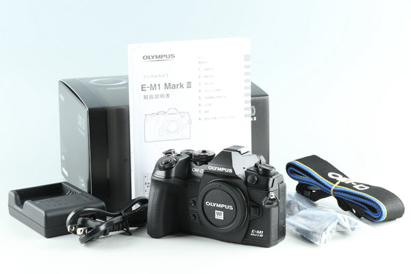 Olympus OM-D E-M1 Mark III Digital SLR Camera With Box *Count 228* #28563L7