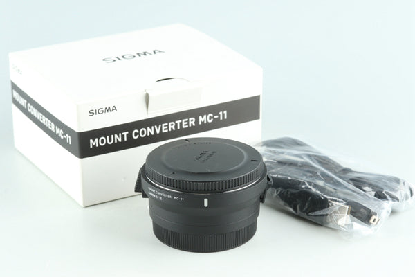Sigma Mount Converter MC-11 EF-E Mount With Box #28566L9