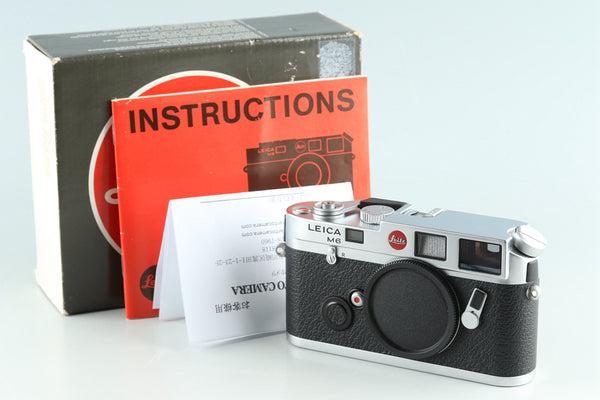 Leica M6 0.72 35mm Rangefinder Film Camera With Box #28571L1