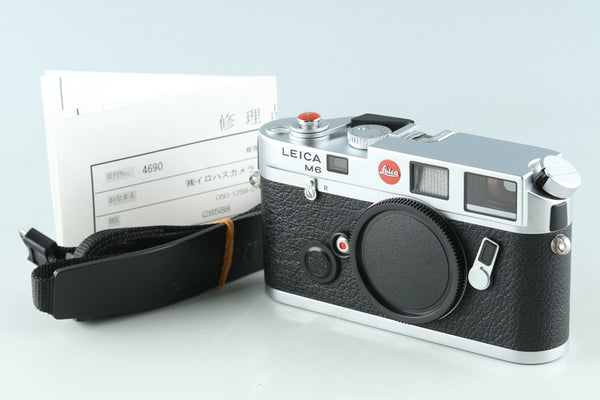 Leica M6 0.72 35mm Rangefinder Film Camera In Silver #28588D1