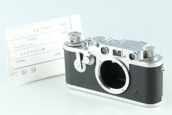 Leica IIIf 35mm Rangefinder Film Camera #28604E6