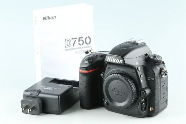 Nikon D750 Digital SLR Camera **Shutter count 97604#28656E5