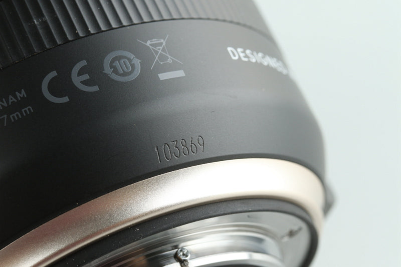Tamron 10-24mm F/3.5-4.5 Di II VC HLD Lens for Nikon With Box #28660L9