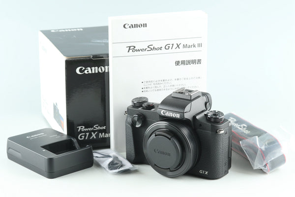 Canon Power Shot G1X Mark III Digital Camera With Box #28679L3