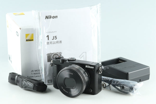Nikon 1 J5 Digital Camera + 10-30mm F/3.5-5.6 Lens With Box #28682L4