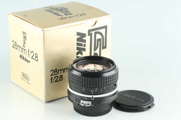 Nikon Nikkor 28mm F/2.8 Ai Lens With Box #28726L4