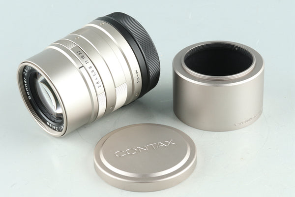 Contax Carl Zeiss Sonnar T* 90mm F/2.8 Lens for G1/G2 #28737A1