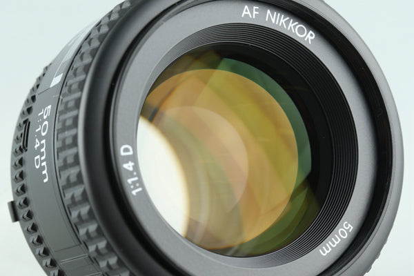 Nikon AF Nikkor 50mm F/1.4 D Lens With Box #28739L5