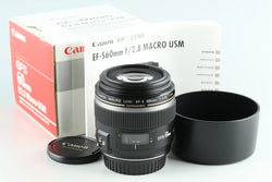 Canon EF-S 60mm F/2.8 USM Lens With Box #28840L3
