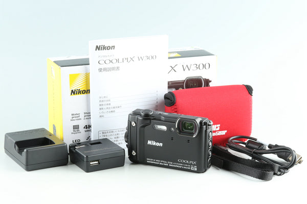Nikon COOLPIX W300 Digital Camera With Box #28863L4