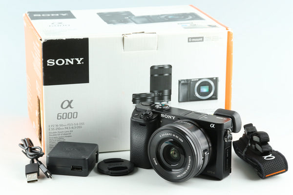 Sony α6000 / a6000 Digital Camera + 16-50mm F/3.5-5.6 *JP Language Only* #28867L2