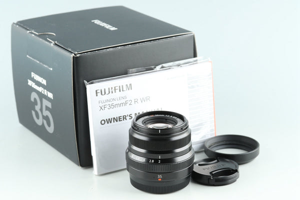 Fujifilm Fujinon XF 35mm F/2 R WR Lens With Box #28936L6