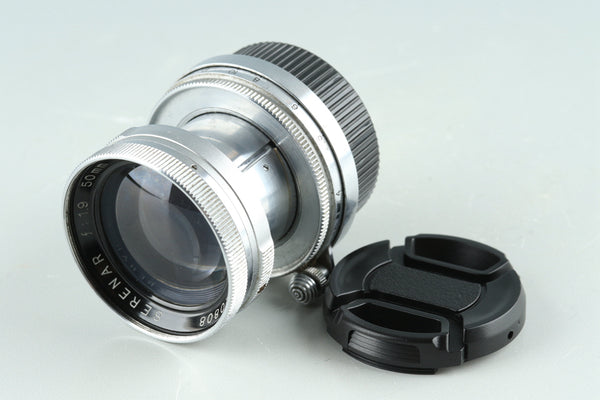 Canon Serenar 50mm F/1.9 Lens for Leica L39 #28997C2