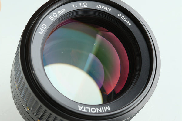 Minolta MD 50mm F/1.2 Lens for MD Mount #29031F4