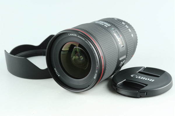 Canon EF 16-35mm F/4 L IS USM Lens #29035F5