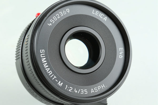 Leica Summarit-M 35mm F/2.4 ASPH. E46 Lens for Leica M With Box #29061L1