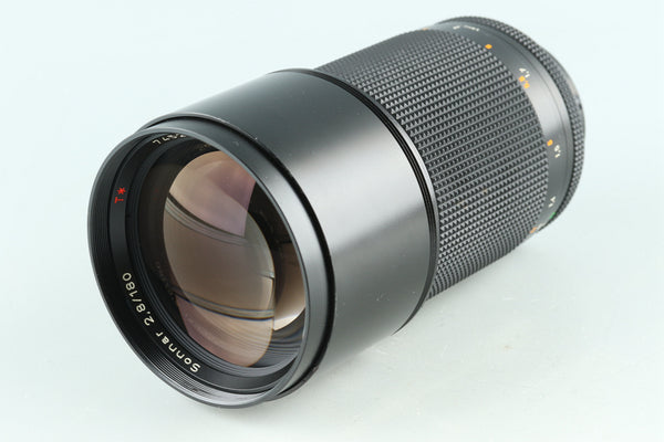 Contax Carl Zeiss Sonnar T* 180mm F/2.8 MMJ Lens for CY Mount #29105A2