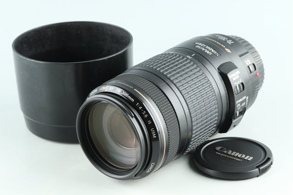 Canon EF 70-300mm F/4-5.6 IS USM Lens #29106F6