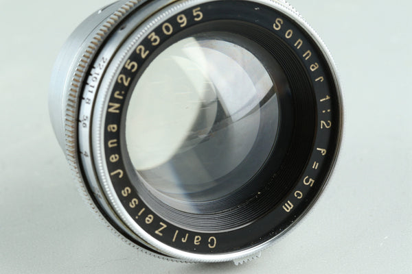 Carl Zeiss Jena Sonnar T 50mm F/2 Lens for Contax RF #29109E6