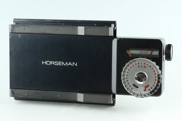 Horseman Exposure Meter 69 + 4x5 Adapter #29141F2