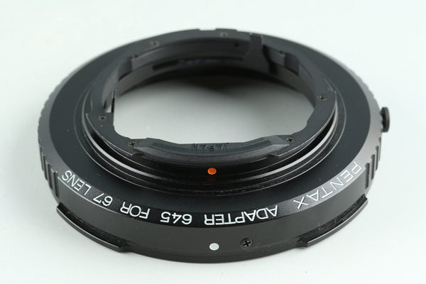 Pentax Adapter 645 for 67 Lens #29164F2