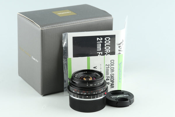 Voigtlander Color Skopar 21mm F/4 Lens for Leica M With Box #29175L7
