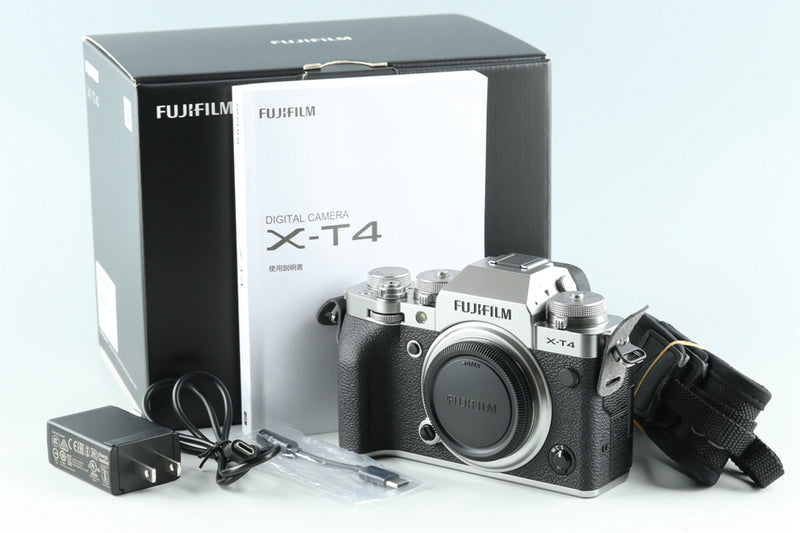 Fujifilm X-T4 Mirrorless Digital Camera With Box #29201L6