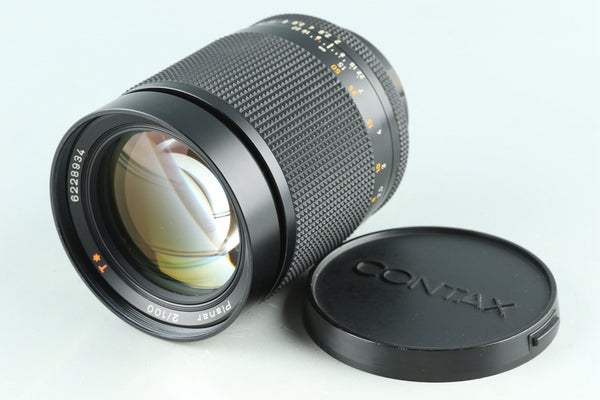 Contax Carl Zeiss Planar T* 100mm F/2 AEG Lens for CY Mount #29214G23