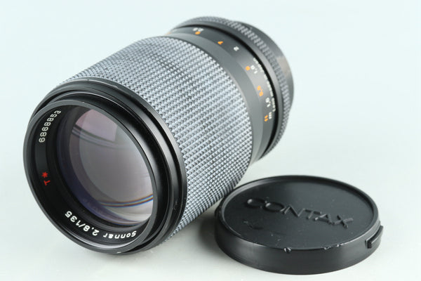 Contax Carl Zeiss Sonnar T* 135mm F/2.8 MMJ Lens for CY Mount #29220G23