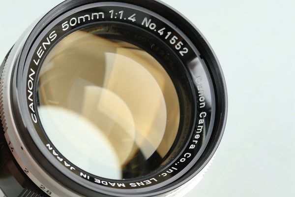 Canon 50mm F/1.4 Lens for Leica L39 #29250E6