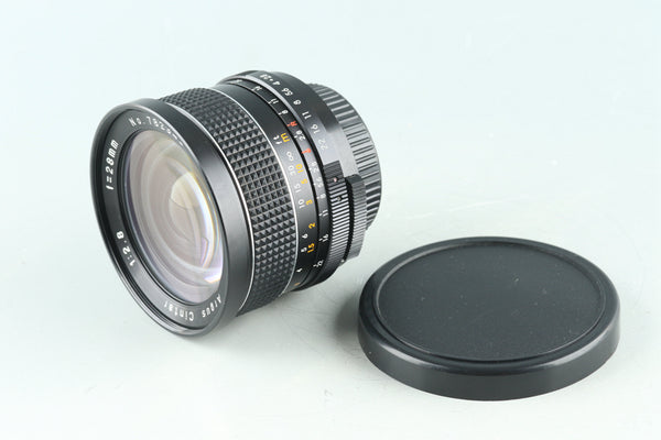 Argus Cintar 28mm F/2.8 for m42 #29344C3