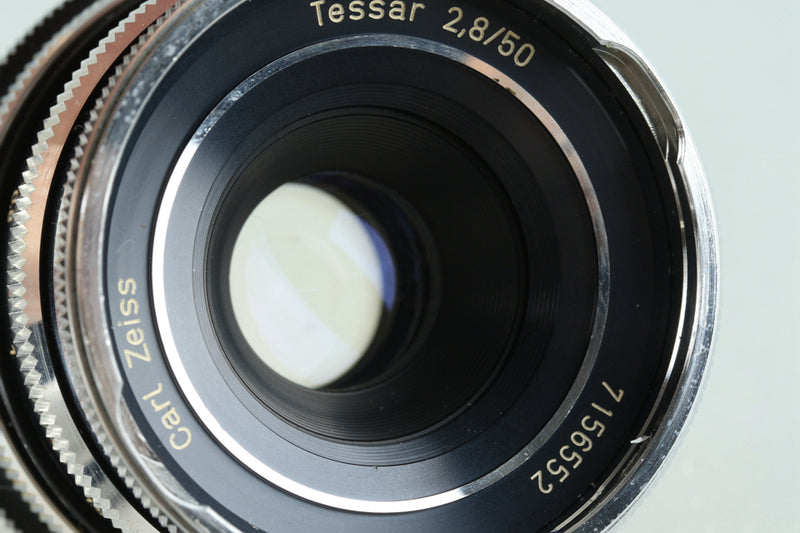 Carl Zeiss Tessar 50mm F/2.8 Lens for Icarex #29403F4