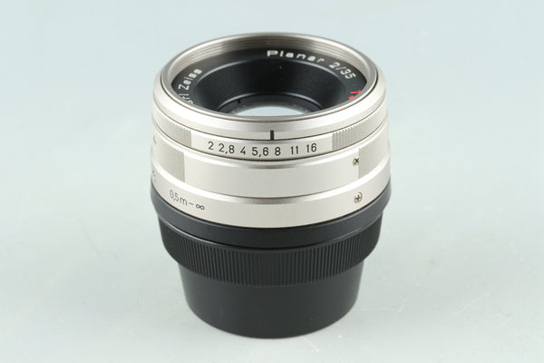 Contax Carl Zeiss Planar T* 35mm F/2 Lens for G1/G2 #29501A1