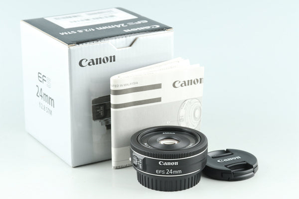 Canon EF-S 24mm F/2.8 STM Lens With Box #29517L3