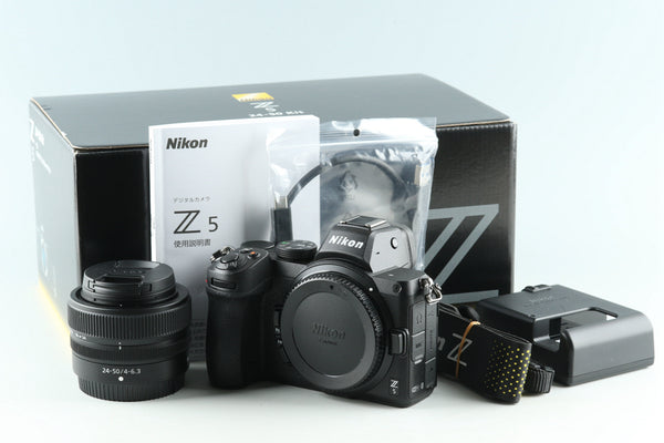 Nikon Z5 + 24-50mm F/4-6.3 Lens Kit *Shutter Count 38*#29520L5
