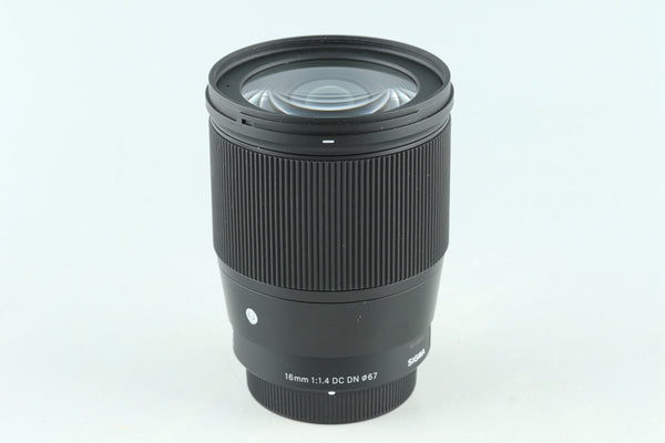 Sigma C 16mm F/1.4 DC DN Lens for M4/3 #29526F4