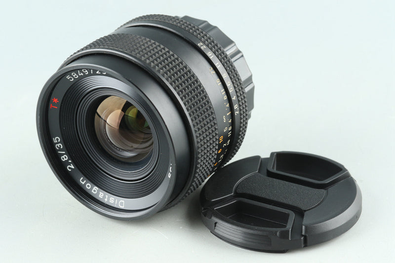 Contax Carl Zeiss Distagon T* 35mm F/2.8 AEJ Lens for CY Mount #29550A1